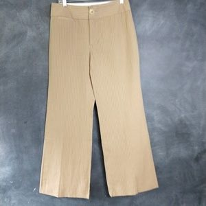 BANANA REPUBLIC | Harrison Pinstripe Trousers Sz 6